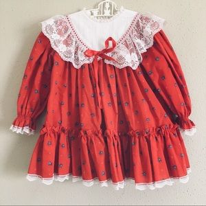 Other - Beautiful vintage lace floral toddler dress💞